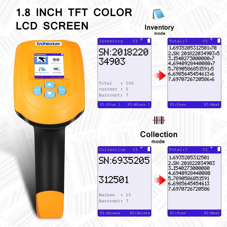 trohestar Wireless Barcode Scanner, 1D USB Handheld Bar Code