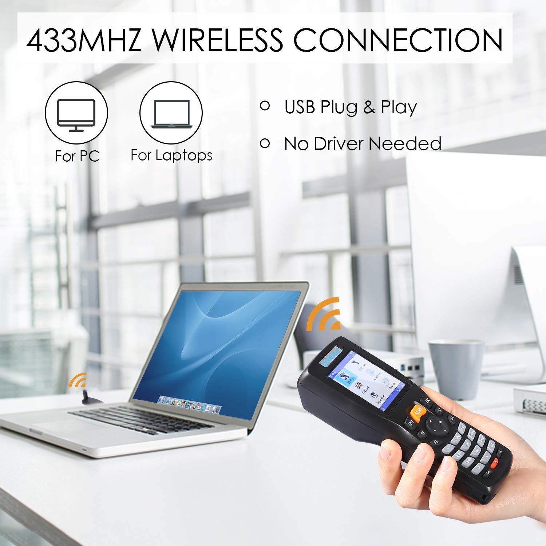 trohestar Wireless Barcode Scanner Model NS-8103 – TROHESTAR